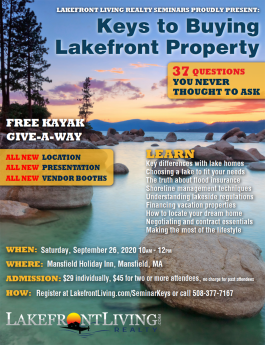 Lakefront Homes & Property For Sale, Vacation Lake Real Estate